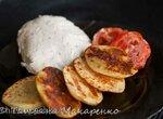 Котлета рубленая куриная с картофелем по технологии су вид в скороварке Steba