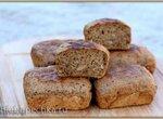 Порционный хлеб Фитнес из смеси (Брауни мейкер Tristar)