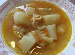 Суп картофельный с куриным филе (скороварка Steba DD1 ECO)