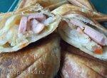 Пирожки закусочные в сендвичнице (Steba)