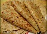 Бесан роти - индийские лепешки из нутовой муки