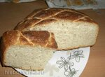 Белый хлеб на каждый день по мотивам багета на МК закваске (духовка)