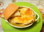 Луковый хлеб по рецепту Вильяма Похлебкина