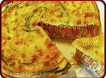 Пирог с цукини и морковью Спиральный