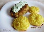 Рыбные котлеты с картофелем А-ля Дюшес