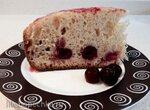 Быстрый вишневый пирог