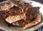 Морковные чипсы со злаками и орехами в дегидраторе Sedona Combo SD-P9150 и других сушилках