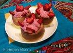 Клубничные шорткейки (Strawberry Shortcakes)
