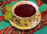 Кисель смородиновый (стационарный блендер-суповарка Moulinex)