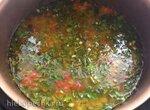 Суп из сельдерея с картофелем и курочкой в мультиварке BORK U700