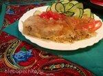 Пирог-запеканка (стационарный блендер-суповарка Moulinex и гриль Мидеа)