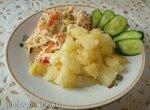 Молодой жаренный картофель (мультиварке Polaris 0508D floris и  PMC 0507d kitchen)