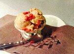 Мороженое Двойной кофе по-восточному с ягодами годжи и козьим сыром