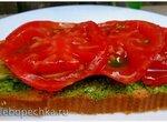 Рустичи - rustiche - с настурциевым маслом и печеным цукини