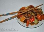 Тофу со сладким перцем по-китайски