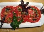 Скороспелые закусочные маринованные помидоры за 30 минут