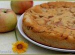 Заливной яблочный пирог (без масла и яиц)