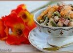 Теплый салат из зеленой фасоли и абрикосов