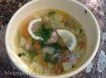 Суп а-ля Минестроне с тунцом