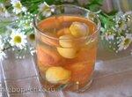 Витаминный напиток из сушеного урюка