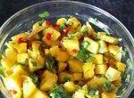 Салат соус из манго к мясу