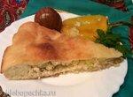 Пирог с куриным фаршем, луком и картофелем (пиццепечь Принцесс)