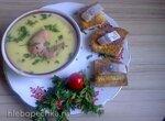 Мюнхенский картофельный  суп с сосисками
