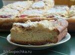 Яблочный пирог со штройзелем (Streuselkuchen)
