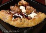 Фруктово-ягодный пирог на творожном тесте (духовка или пиццамейкер Princess)
