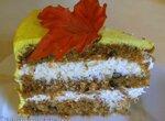 Торт Осеннее настроение морковный