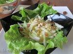 Немецкий десертный салат из груш с огурцами