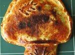 Капустный пирог с грибами на пивном тесте