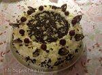 Торт шоколадно-вишневый (немецкий)