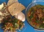 Leberspaetzle - Печеночные шпетцле (Polaris Floris 0508D и Kitchen 0507D)