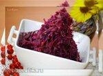 Fruchtiger Rotkohl mit Portwein (Красная капуста с фруктами и портвейном)