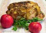 Курица в яблоках по-немецки (Huhn in Apfeln)(Steba DD1 и DD2)