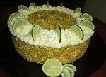 Торт лаймовый с суфле