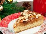 Яблочный пирог с миндальной посыпкой (Apfelkuchen mit Mandeln)