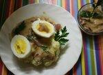 Senfeier mit Kartoffelpuree - Ханжеская размазня