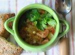 Гороховый суп с колбасками (Erbsensuppe mit Wurst) (Steba DD1 и DD2)