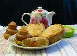 Творожный тортик с тыквой (Kasekuchen mit Kurbis)