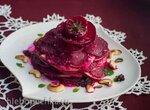 Салат из свеклы - Rote Bete Salat