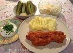 Сосиски в соусе карри по-немецки (Currywurst)