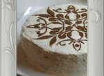 Торт без яиц Творожная Черемуха (мультиварка Phlips HD3095)