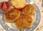 Немецкие картофельные пирожки (kartoffelplatzchen)