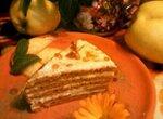 Торт Карамельно-молочная девочка