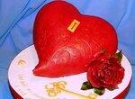 Торт Сердце 3Д (мастер-класс)