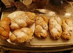 Чешский рождественский творожный пирог ( tvarohova vanocka)