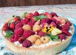 Тарт с маскарпоне и ягодами