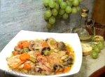 Цыпленок в Рислинге (белом вине) по-баденски Haehnchen in Risling (мультиварка-скороварка Steba)